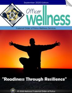 Officer Wellness - September 2020