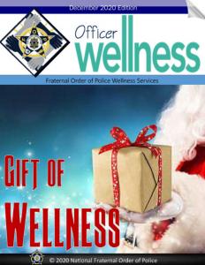 Officer Wellness - December 2020