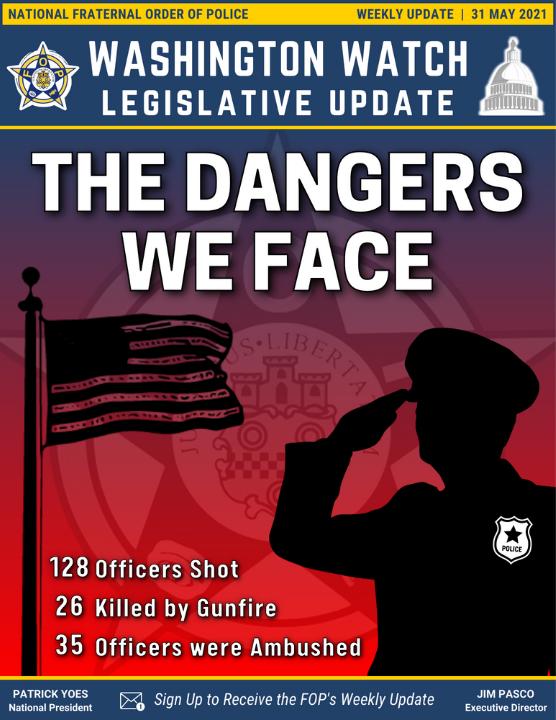 Washington Watch: Legislative Update, 31 May 2021