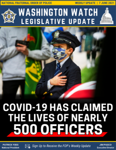 COVID-19 Has the Claimed the Lives of Nearly 500 Officers